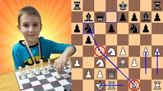 """7-Year-Old Chess Prodigy gives """"Very Epic Mate"""" to Chess Master"""