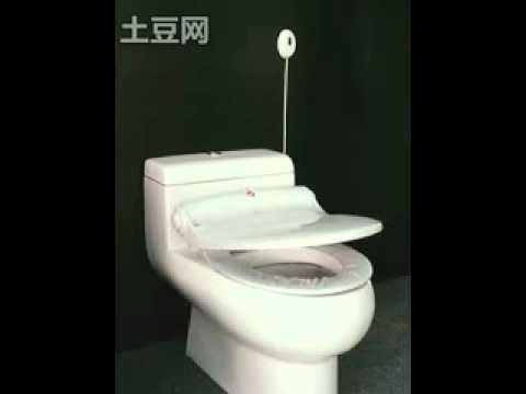 self opening toilet seat. toilet mat auto opening seat sensors intelligent sanitary  paper cover flv