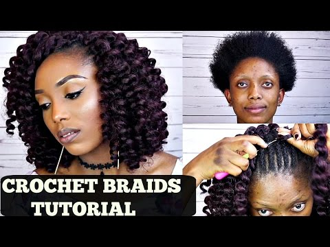 Crochet Hair Tutorial For Beginners : How To Crochet Braids Tutorial Beginners Friendly