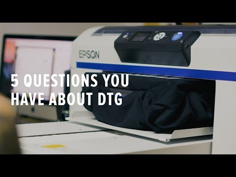 DTG (Direct To Garment) Printing - 5 Things You Should Know