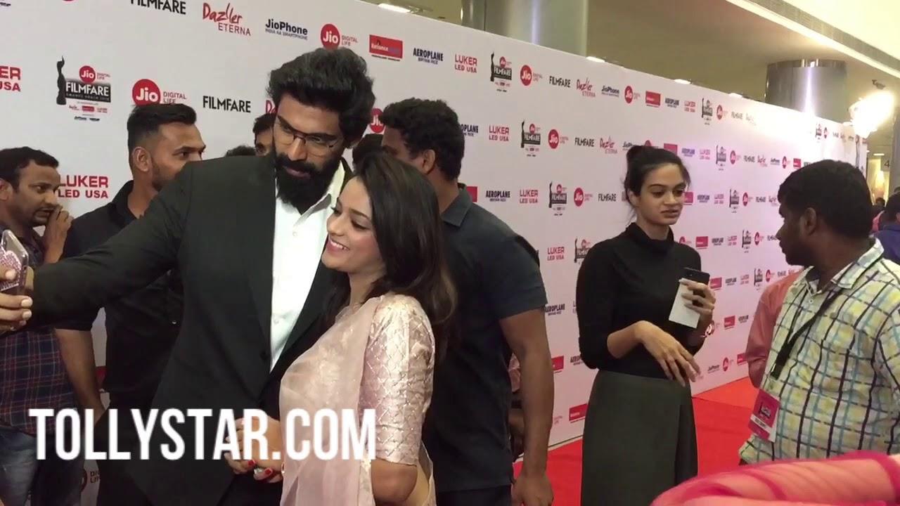 Rana Daggubati at 65th Filmfare awards south 2018 - Tollystar com