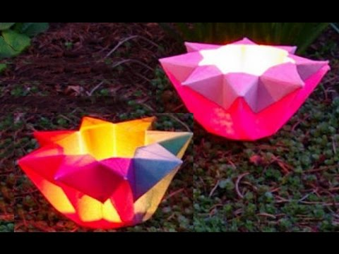 How To Make A Origami Lotus Flower Youtube