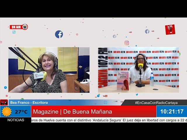 Radio Cartaya | Bea Franco nos presenta su libro