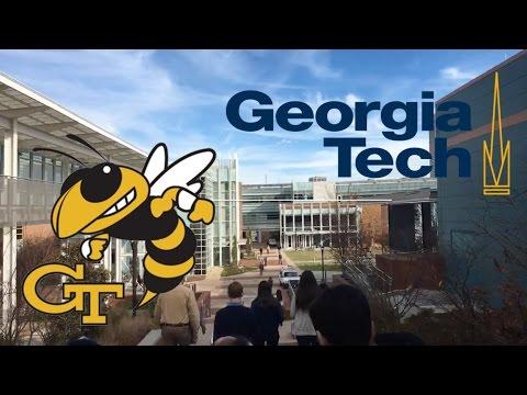 Georgia Tech College Campus Tour (Atlanta)