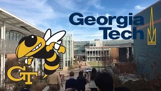 Georgia Tech College Campus Tour (Atlanta)