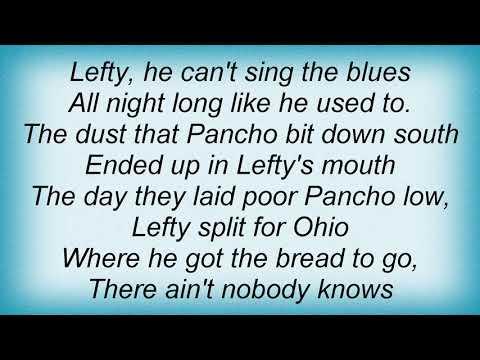 Townes Van Zandt - Pancho And Lefty Lyrics
