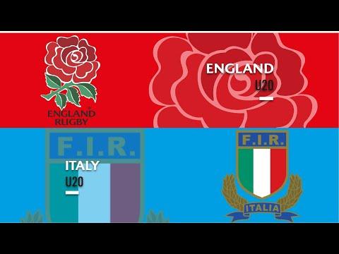 World Rugby U20s 2019 - England V Italy - FULL MATCH