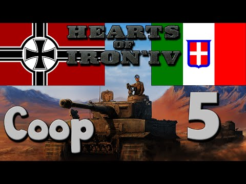 Hearts of Iron 4 Coop: Germany & Italy - Part 5: Anschluss