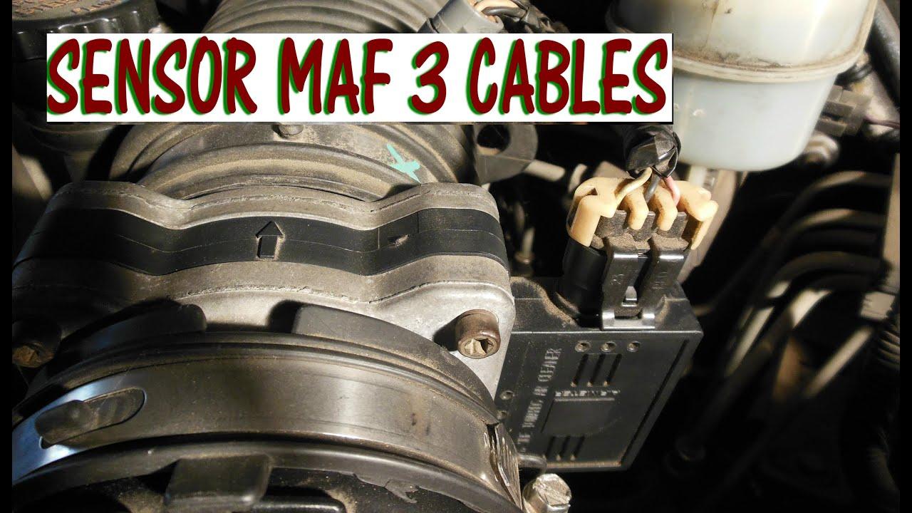 Como Probar El Sensor Maf De 3 Cables Con Multimetro
