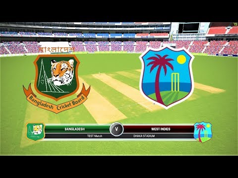 BANGLADESH VS WEST INDIES 1ST TEST DAY 1 LIVE/ASHES CRICKET GAMEPLAY 1080P 60FPS//WI TOUR OF BD 2018