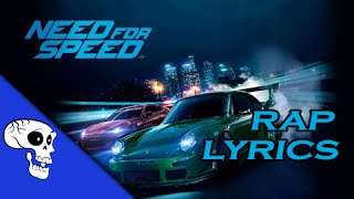"""Need for Speed Rap LYRIC VIDEO by JT Music - """"Pop the Hood"""""""
