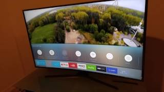 How to setup optical audio device. Samsung 4k uhd tv.
