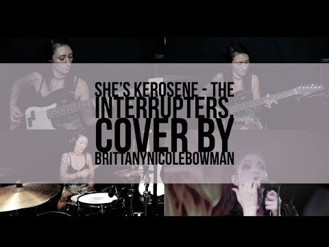 She's Kerosene - The Interrupters // Drum, Guitar and Bass Cover