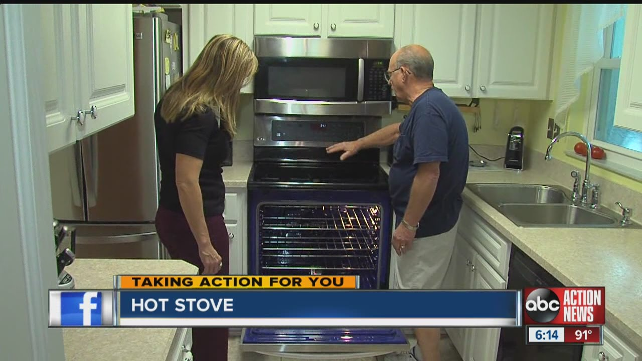 Hot Stove Damages Kitchen Cabinets. ABC Action News
