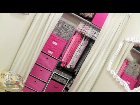 Perfect Closet Tour: Organizing A Very Small Closet