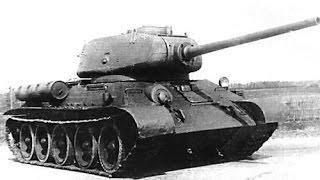 """""""Т-34 против Тигра"""" кокпит и приборы наблюдения Т-34-85"""