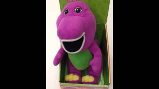 Barney Plush toy singing Twinkle Twinkle Little Star