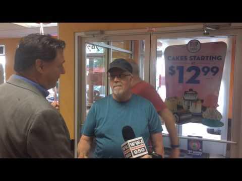 A man named Duncan just won $1,000 at Dunkin' Donuts