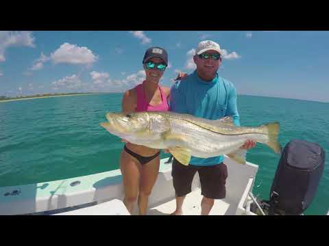 Florida Summer beach SNOOK Fishing | Part 2