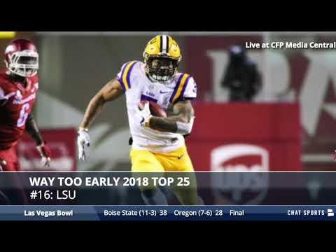 Way-Too-Early 2018 College Football Top 25 And Jacob Eason Transfer Rumors