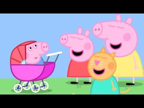 Peppa Pig en Español - ¡George el bebé! - Dibujos Animados