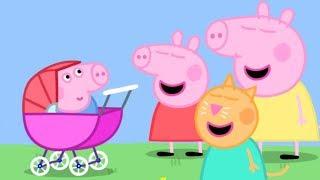 Peppa Pig en Español - ¡George el bebé! - Pepa la cerdita