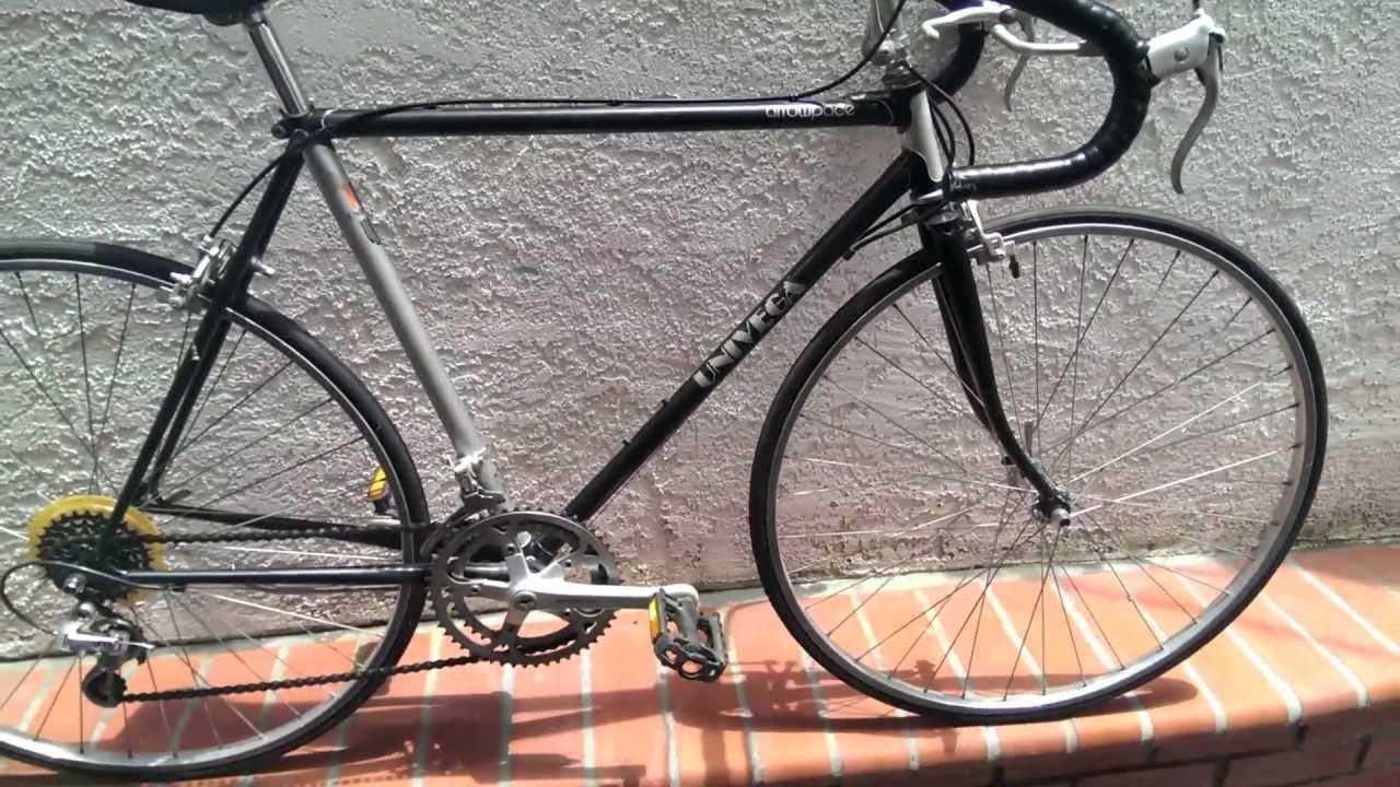 Univega Arrowpace Road Bike With Suntour Components Youtube