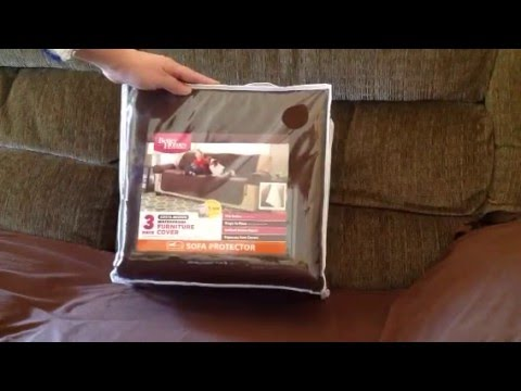 Better Homes And Gardens Waterproof Non Slip Faux Suede Pet/Furniture Sofa  Cover   YouTube