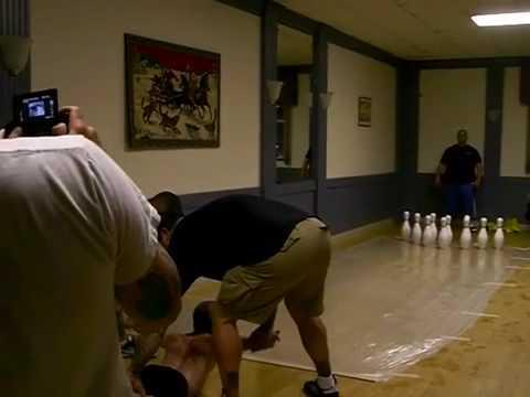Midget bowling video — 10