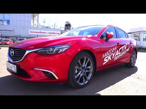 2015 Mazda 6.Supreme Plus. Start Up, Engine, and In Depth Tour.