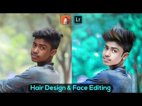 Hair & Face Editing Tutorial || Lightroom Stylish Color Correction Tutorial || (Hindi)