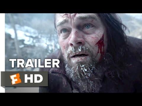 The Revenant Official Trailer #1 (2015) -  Leonardo DiCaprio, Tom Hardy Drama HD poster