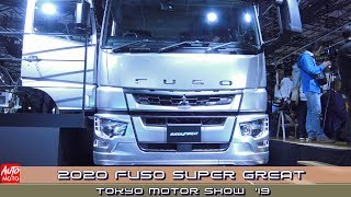 2020 Fuso Super Great - Exterior And Interior - Tokyo Motor Show 2019