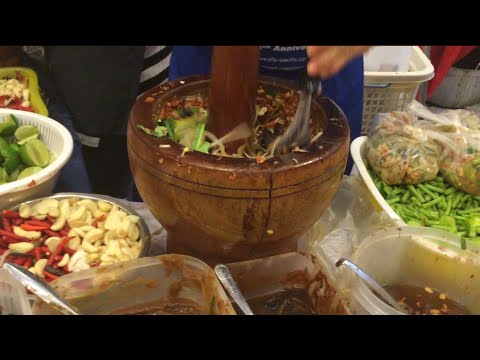 Asian Street Food - Fast Food Street in Asia, Cambodian food #72