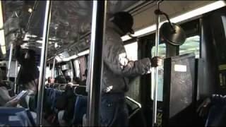 Good Ride Gone Bad on the Q17 (Crazy Dude On Bus)
