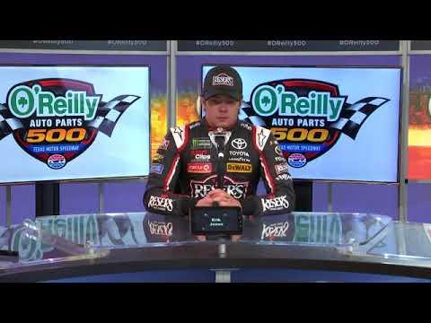 2018 NASCAR Texas Monster Cup post-race Q&A