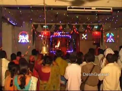 Chotila  Mata Chamunda Mandir Aarti During Navratri