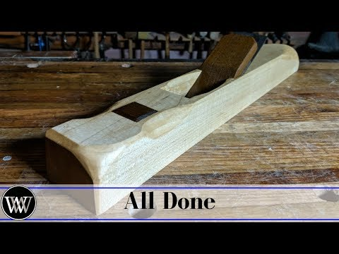 Making a Low Angle Jointer Part 4 | How To Smooth and Finish The Hand Plane