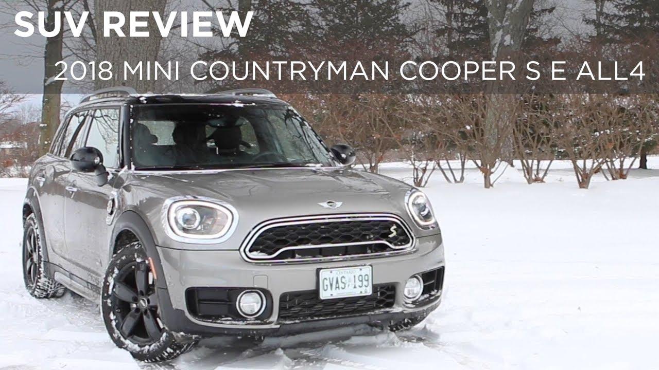 Suv Review 2018 Mini Countryman Cooper S E All4 Drivingca Youtube