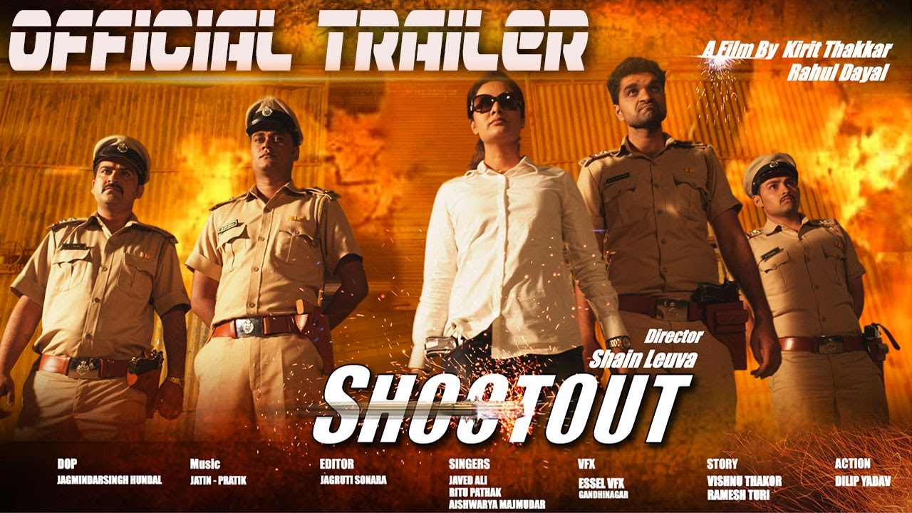 Shootout - Official Trailer  Upcoming Gujarati Movie 2016