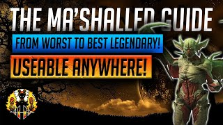RAID: Shadow Legends | THE 'Ma'Shalled' GUIDE! From worst Legendary in the game to the best? INSANE!