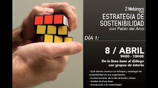 Webinar CERES  Estrategia de Sostenibilidad   Primera Parte
