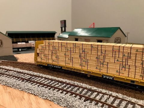 Illinois Central Gulf HO scale layout update, May 2018