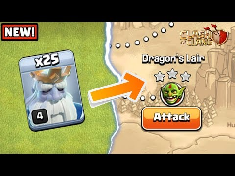 New Way To 3 Star 'Dragon's Lair' Goblin Map | Clash Of Clans |