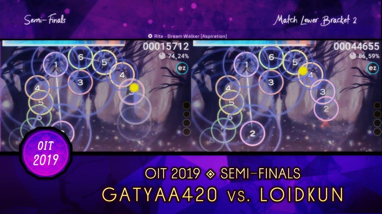 osu! Indonesia Tournament 2019   SF (Lower Bracket)   Highlights :  Gatyaa420 vs LoidKun