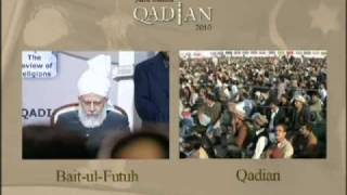 Jalsa Salana Qadian 2010: Concluding Address (Part 1 of 4)