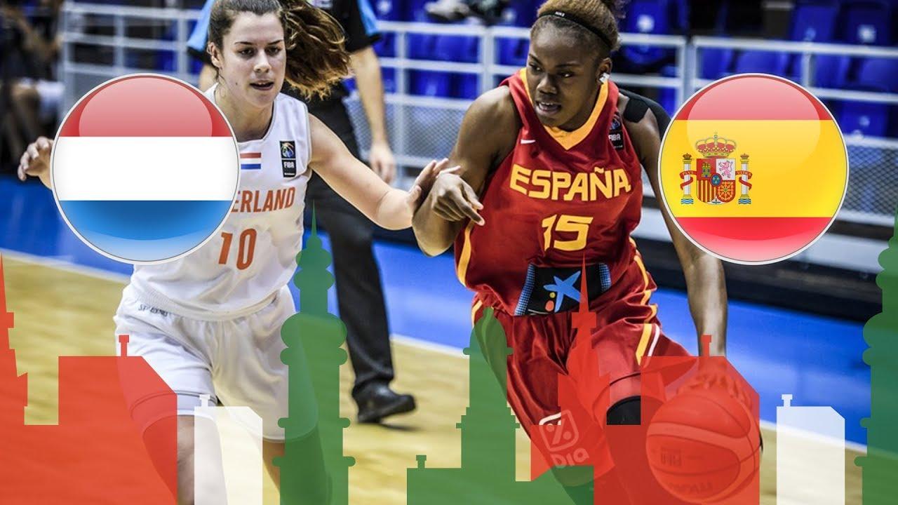 Netherlands v Spain - Full Game - Semi-Finals