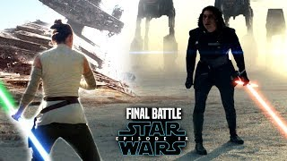 Star Wars Episode 9 Rey vs Kylo Ren! Final Battle Leaked Details & More