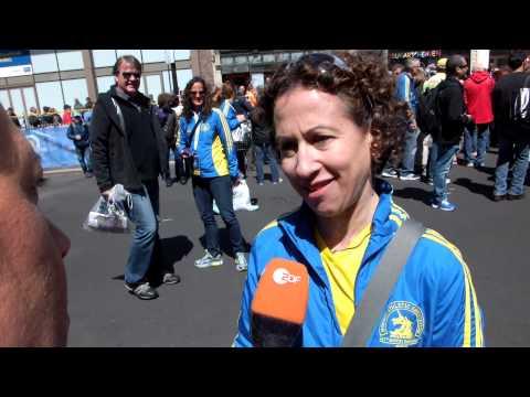 Boston Marathon 2014 Interview