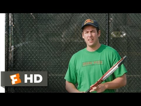 Mr. Deeds (7/8) Movie CLIP - Tennis with Deeds (2002) HD